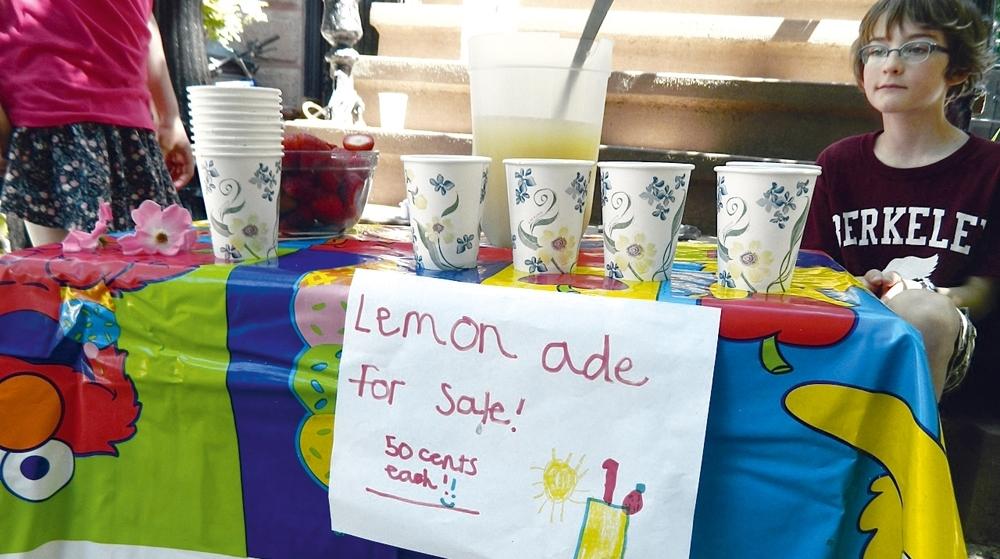 Do limão, uma limonada