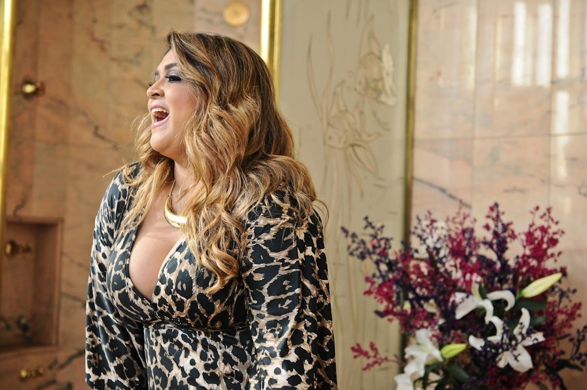A cantora e apresentadora Preta Gil