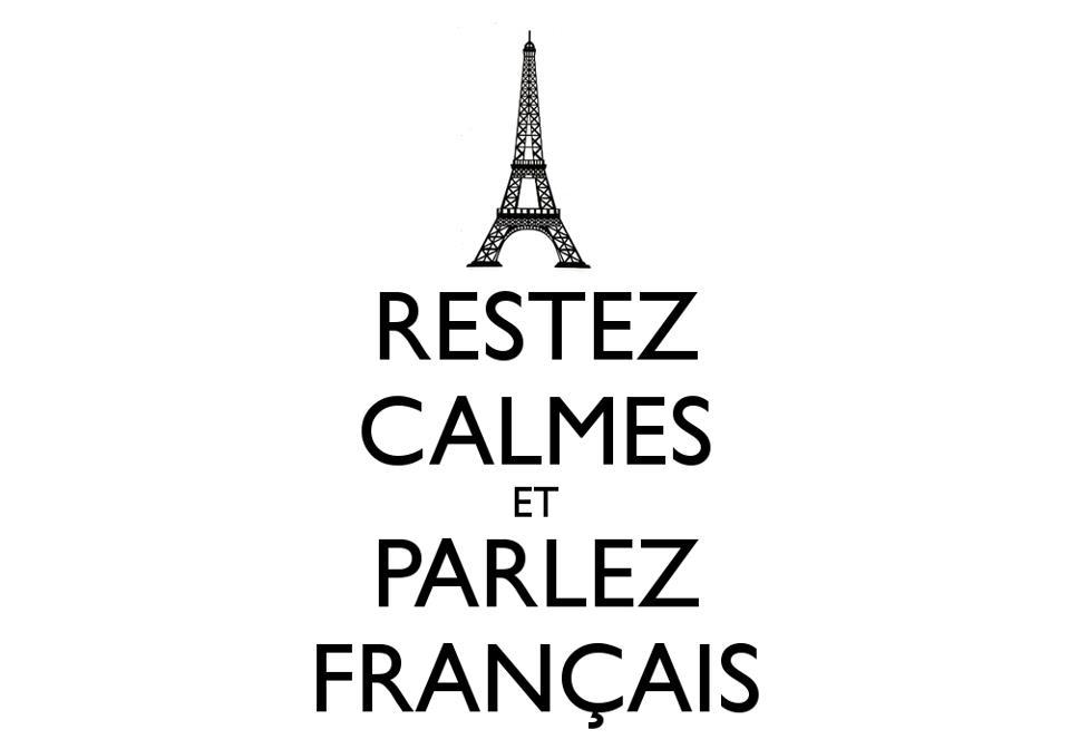 Falar francês