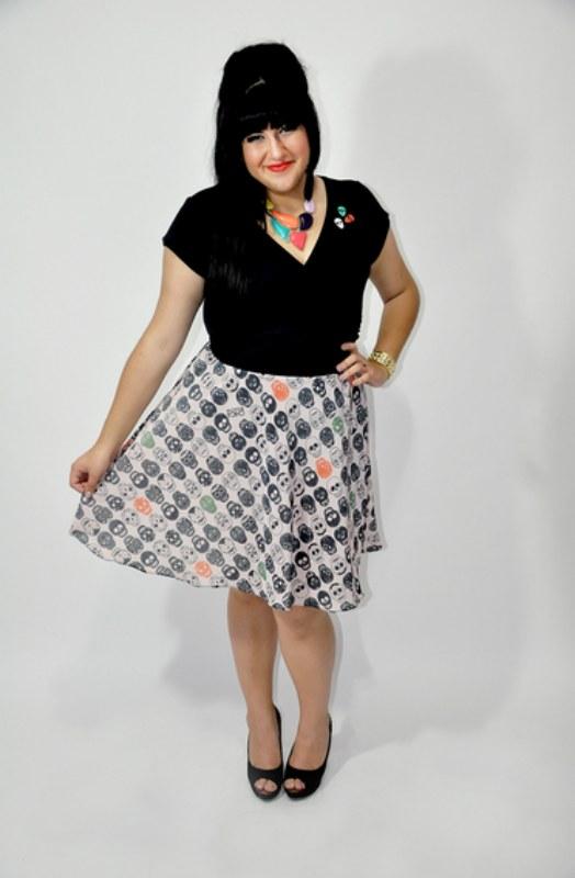 Vestido Calavera - R$ 159,00