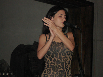 No estúdio: Marina de La Riva