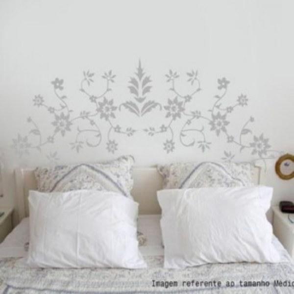 Adesivo Acessório Floral tamanho médio à venda na Grudado adesivos de parede