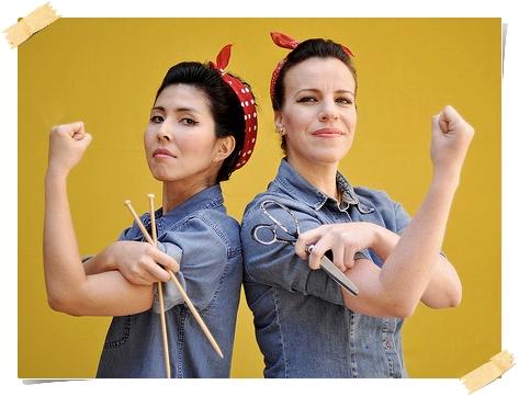 Andréa Onishi e Cláudia Fajkarz, criadoras do site Superziper.com