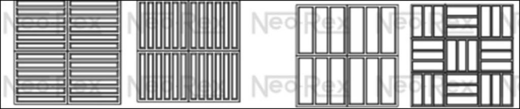 Aplicações de elemento de concreto (Neorex - www.neorex.com.br)