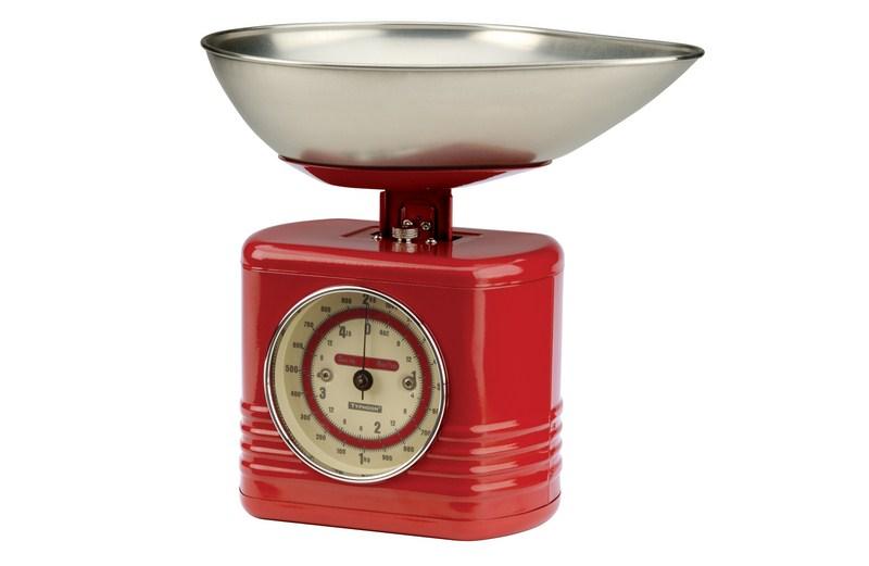 Balança Vintage Vermelha da Typhoon, à venda na Pepper (www.pepper.com.br)