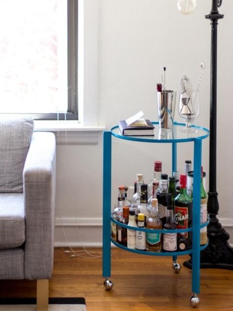 O seu bar pode ser na sua mesa lateral