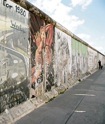 Por dentro dos muros de Berlim