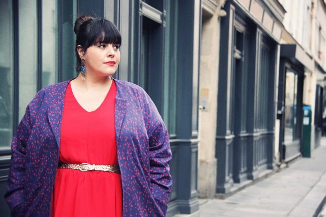 A francesa Stéphanie Zwicky, do Le Blog de Big Beauty