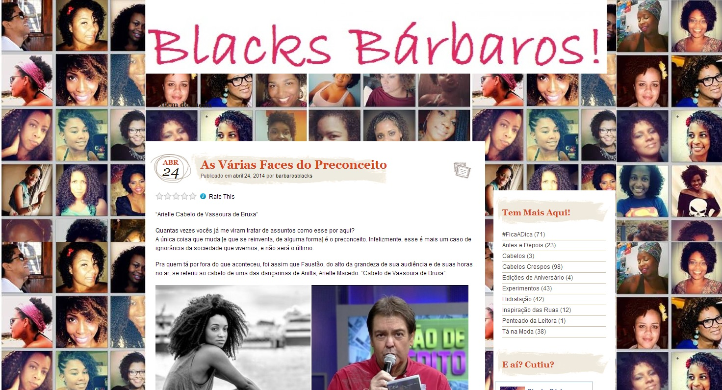 O blog Blacks Bárbaros