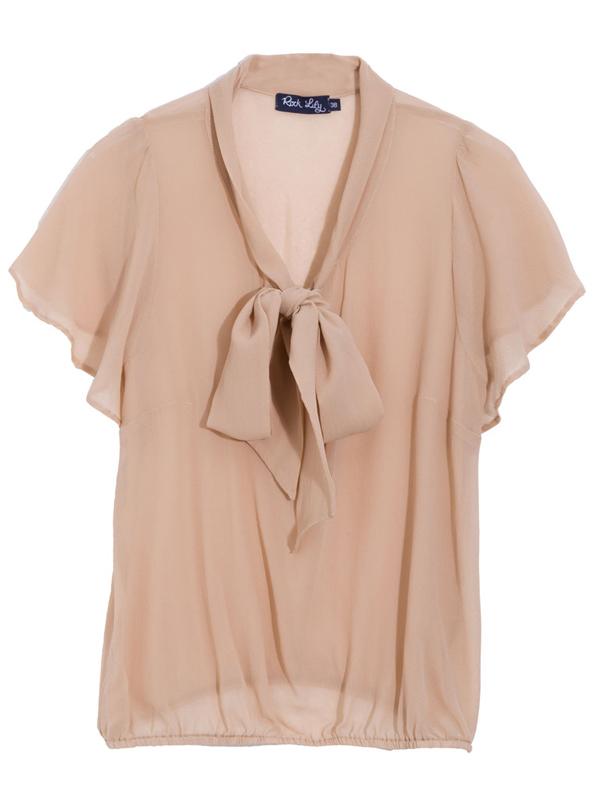 Blusa seda Rock Lily, R$ 475