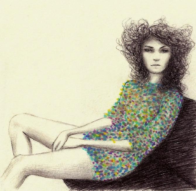 Ilustração da catarinense Camila do Rosário