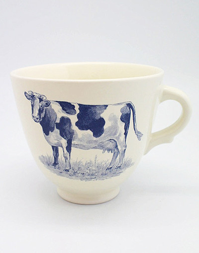 Caneca Devon Cow Oversized  - Na The Berry Tea