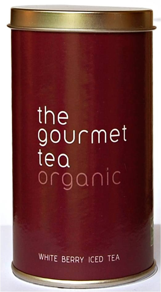 Chá Branco - Berry White Iced Tea - R$24,90 - Na The Gourmet Tea