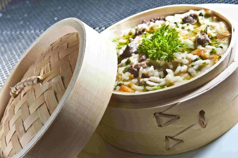 Citrino Bistrô - Risoto de filé mignon com Brunoise de legumes