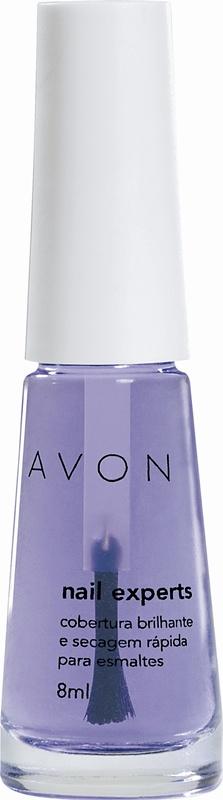 Avon Cobertura Brilhante e Secagem Rápida para Esmaltes, R$ 4,50 – Avon 0800-7082866