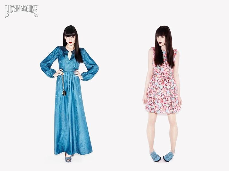 Lily Allen e a irmã, Sarah Owen, dividem as criações da Lucy in Disguise