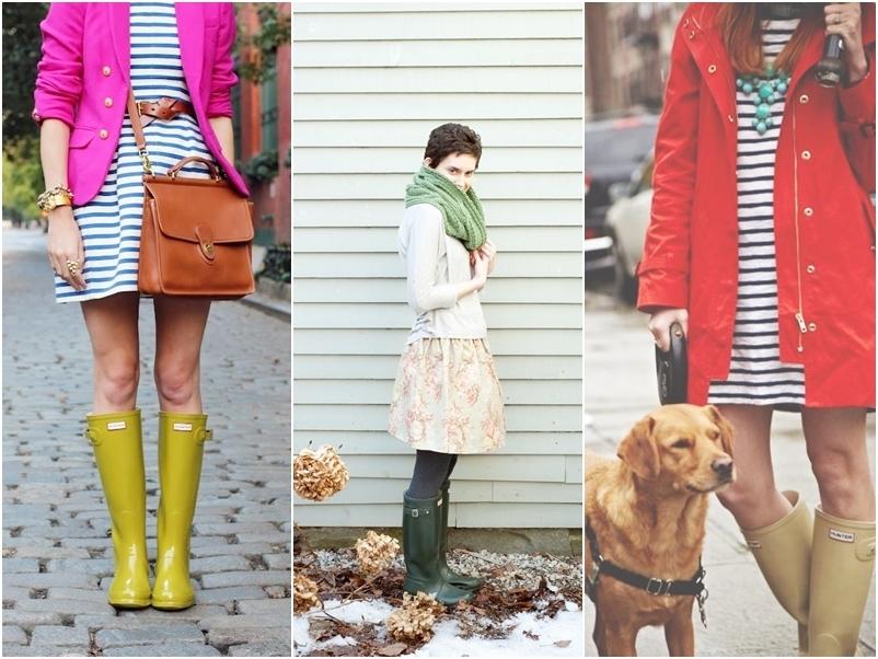 Com saia e vestido, protegem as canelas, dão cor à produção e sempre são confortáveis