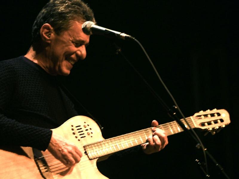 O cantor e compositor Chico Buarque