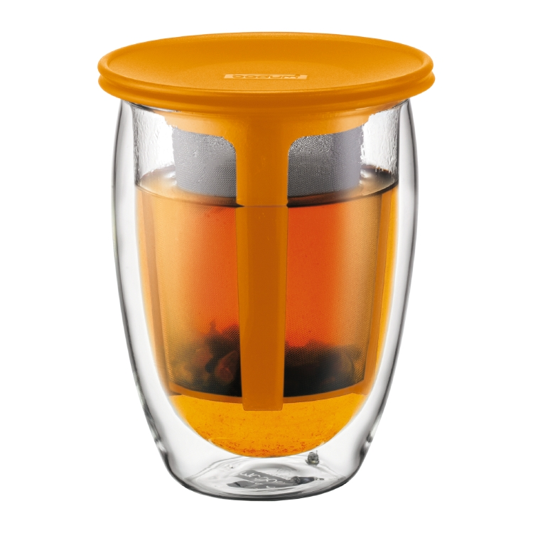 Copo Bodum - Yoyo com infusor 320 ml - R$125,00 - Na The Gourmet Tea
