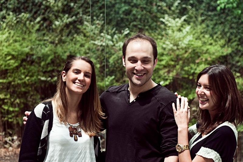 Marília Kodic, Arthur Anderman e Heloísa de Oliveira