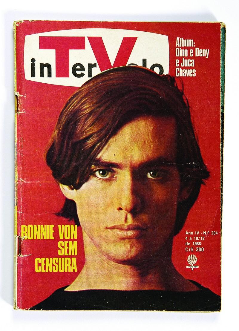 Capa de revista da década de 60