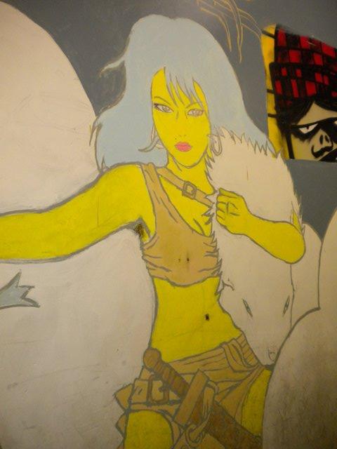 Estúdio de som/arte/grafite Brooklyn