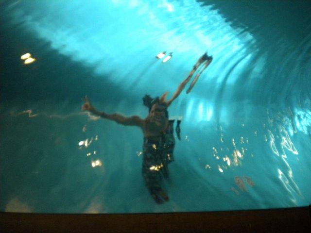 Museu PS1- no Queens- embaixo da piscina arte/instalação