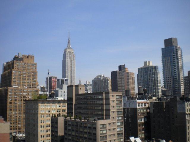 A View from the Roof - Panoramica da cidade do telhado do predio do amigo Max.