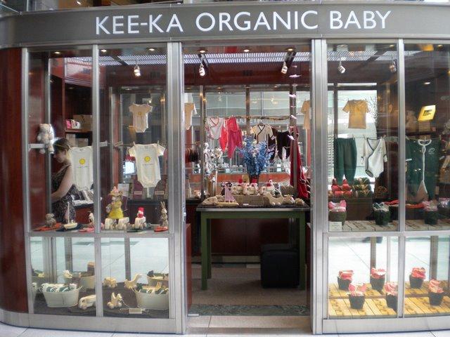 """Loja de produtos para bebês Kee-ka: Um dos vários comercios voltados para o """"eco lifestyle"""""""