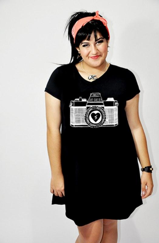 Vestido Camera Preto - R$ 95,00