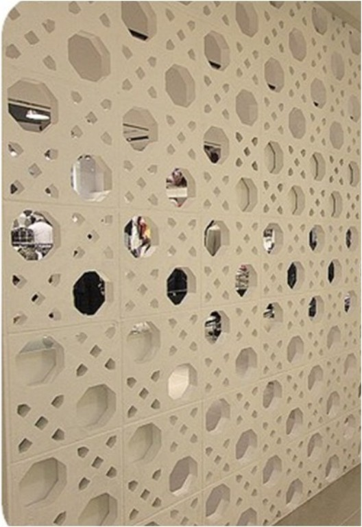 Em concreto pintado de branco (Neorex - www.neorex.com.br)