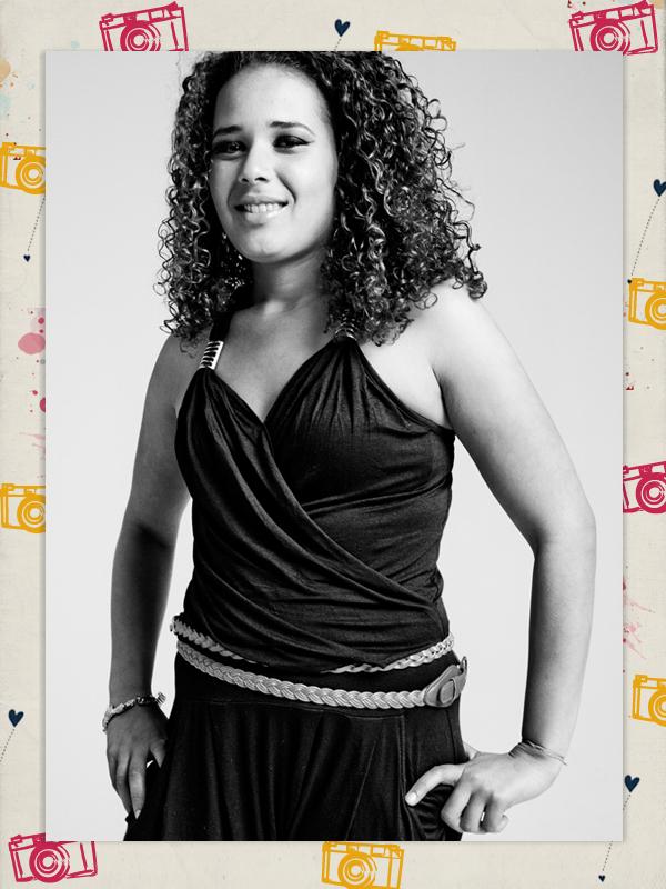 """Tatiane Cristina Castro dos Santos, 17 anos. Seu sonho :: """"Sonhos? Eu tenho vários. Abrir meu próprio negócio, uma padaria. Também sonho em casar e ter filhos com a minha mulher"""""""