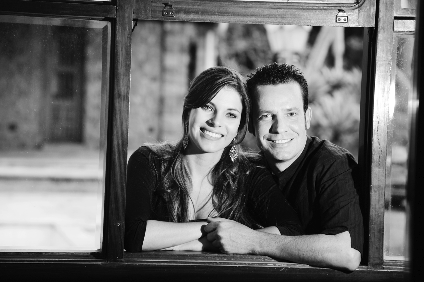 Os autores do doc, Érica de Paula e Eduardo Chauvet