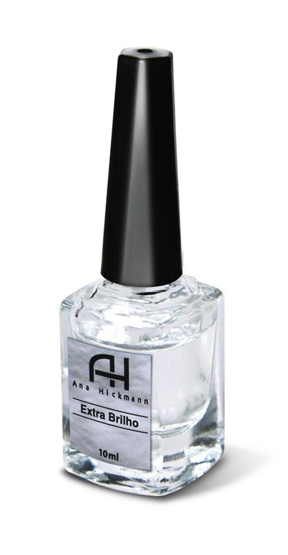 Ana Hickmann Extra Brilho com Nylon, R$2,00: Utilizada por cima do esmaltes, dá brilho e mais resistência as unhas recém-feitas – Ana Hickmann 0800-7099440