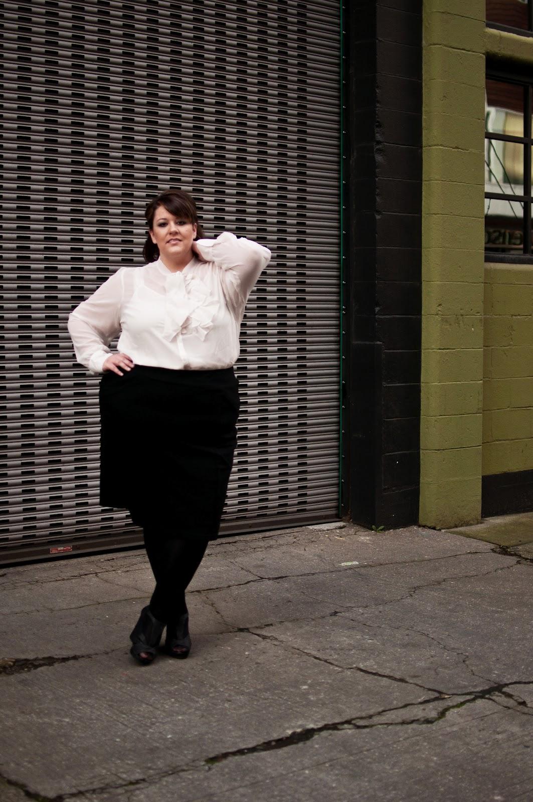 Jessica Kane, do Fatshion Chic, também dos Estados Unidos