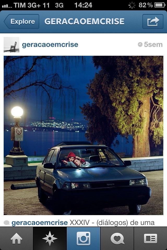 Mais uma imagem do perfil de @geracaoemcrise
