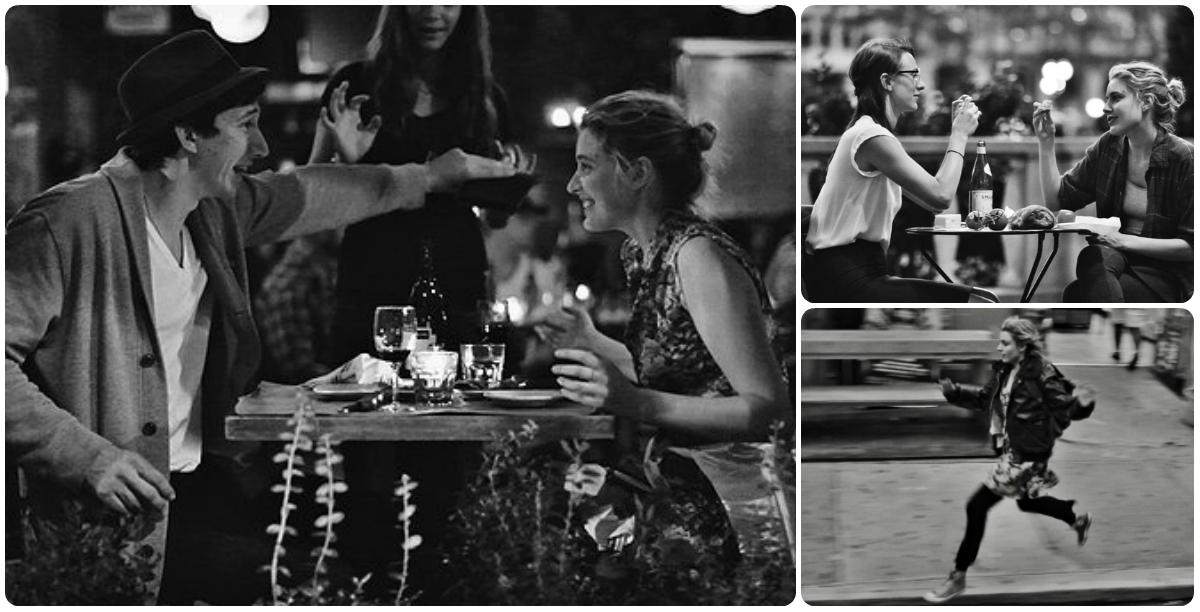 """Adam Driver (o Adam, de Girls) e Greta Gerwig; as personagens de Mickey  Summer e Greta são melhores-amigas-quase-casadas (à esq. e acima); e Frances saltita por NY ao som de """"Modern love"""""""