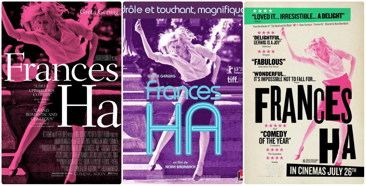 Três pôsteres do filme