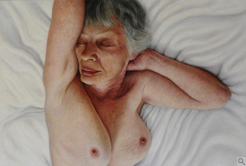 Um dos retratos de Francien Krieg sobre a beleza feminina e os paradigmas da forma