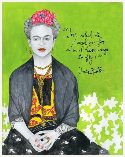 Frida Kahlo. Pintora mexicana consagrada por seus quadros e sua história de vida