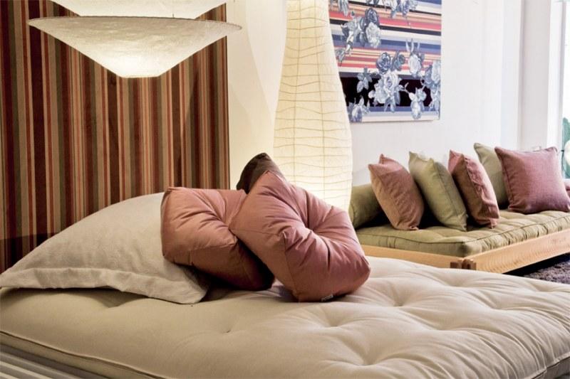 Cama módulo com futon