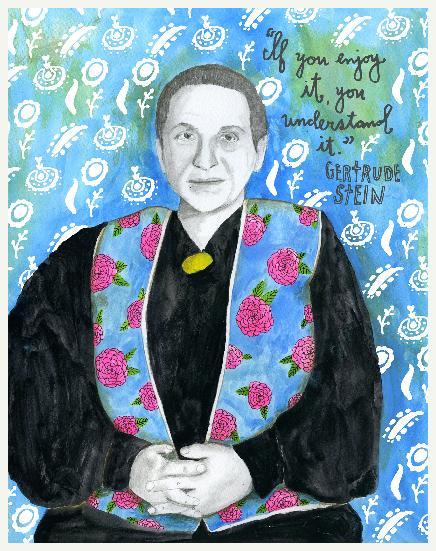 Gertrude Stein. Escritora, poeta e feminista estadunidense