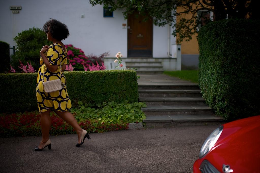 Esse look usei usei pra um jantar especial com meu namorado no restaurante Maaemo, em Oslo. Vestido Marni, bolsa Chanel vintage, sapato Maria Bonita, pulseira Delfina Delletrez, brinco vintage anos 50 comprado no Antiquário Utopia em Oslo