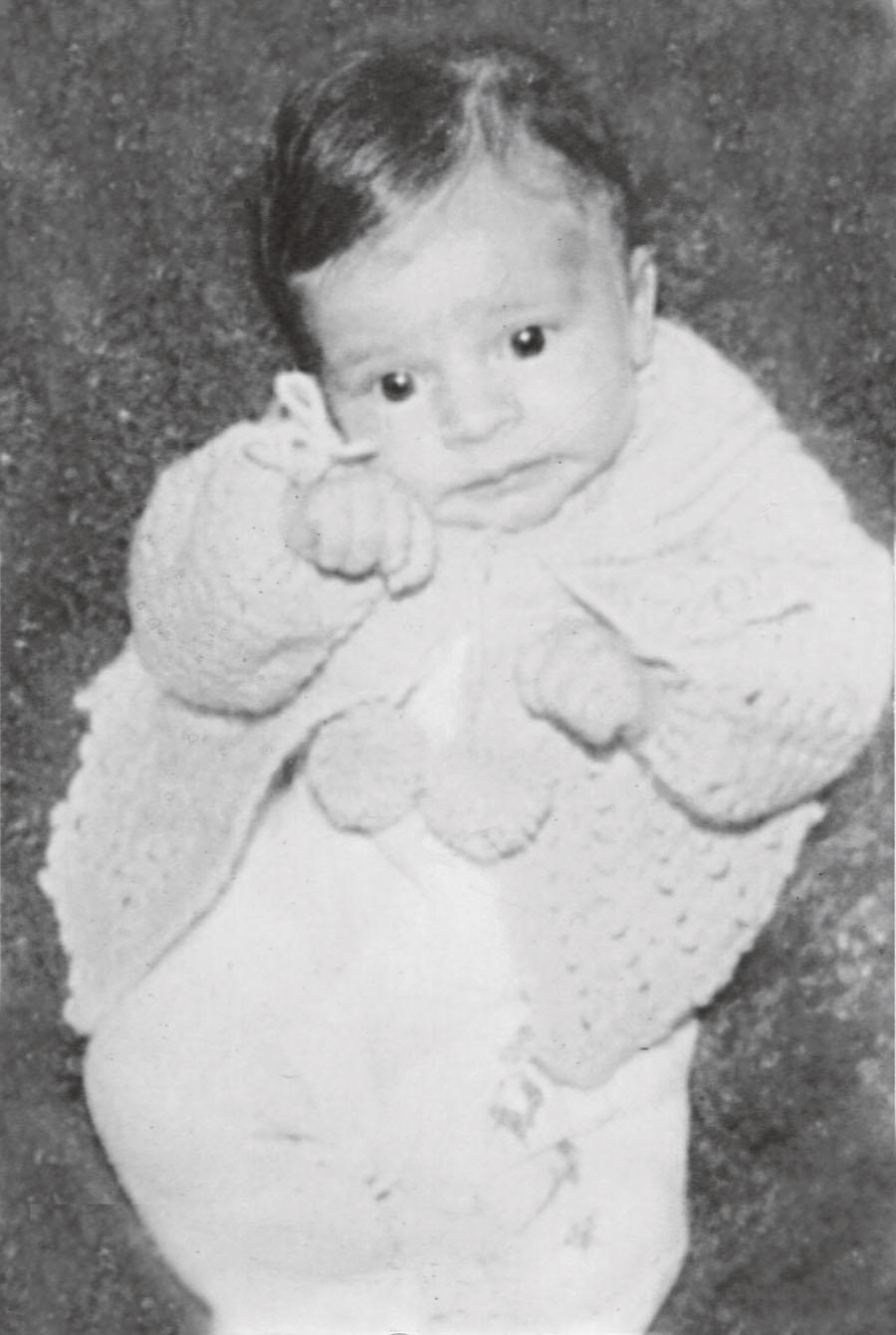 A bebê Grazi, que nasceu em um bairro simples de Jacarezinho, no Paraná