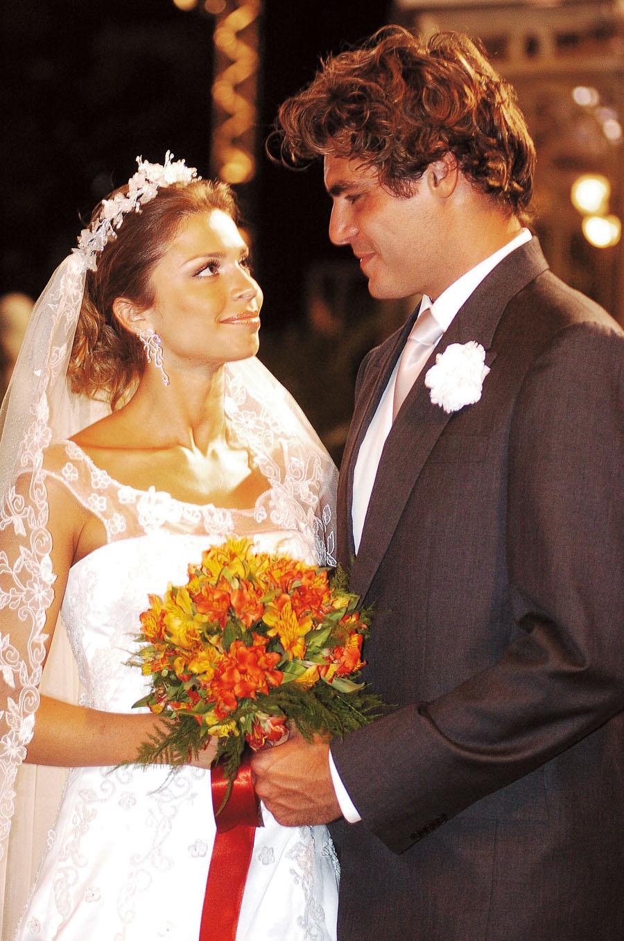 Do Big Brother para a novela  das oito: com o ator Thiago Lacerda, em Páginas da Vida