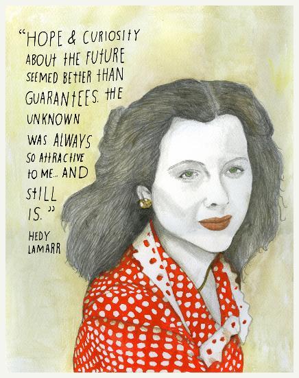 Hedy Lamarr. Atriz austríaca