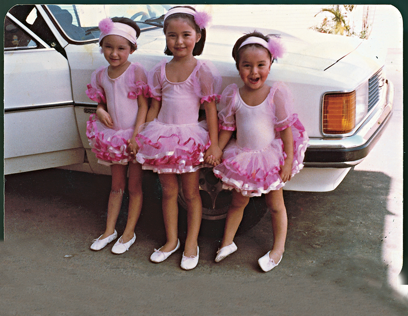 De pés virados no Carnaval, aos 3 anos