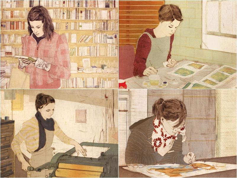 Imagens da série Places and Process