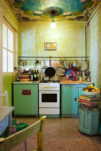 Quem disse que cozinha precisa ser sem graça?