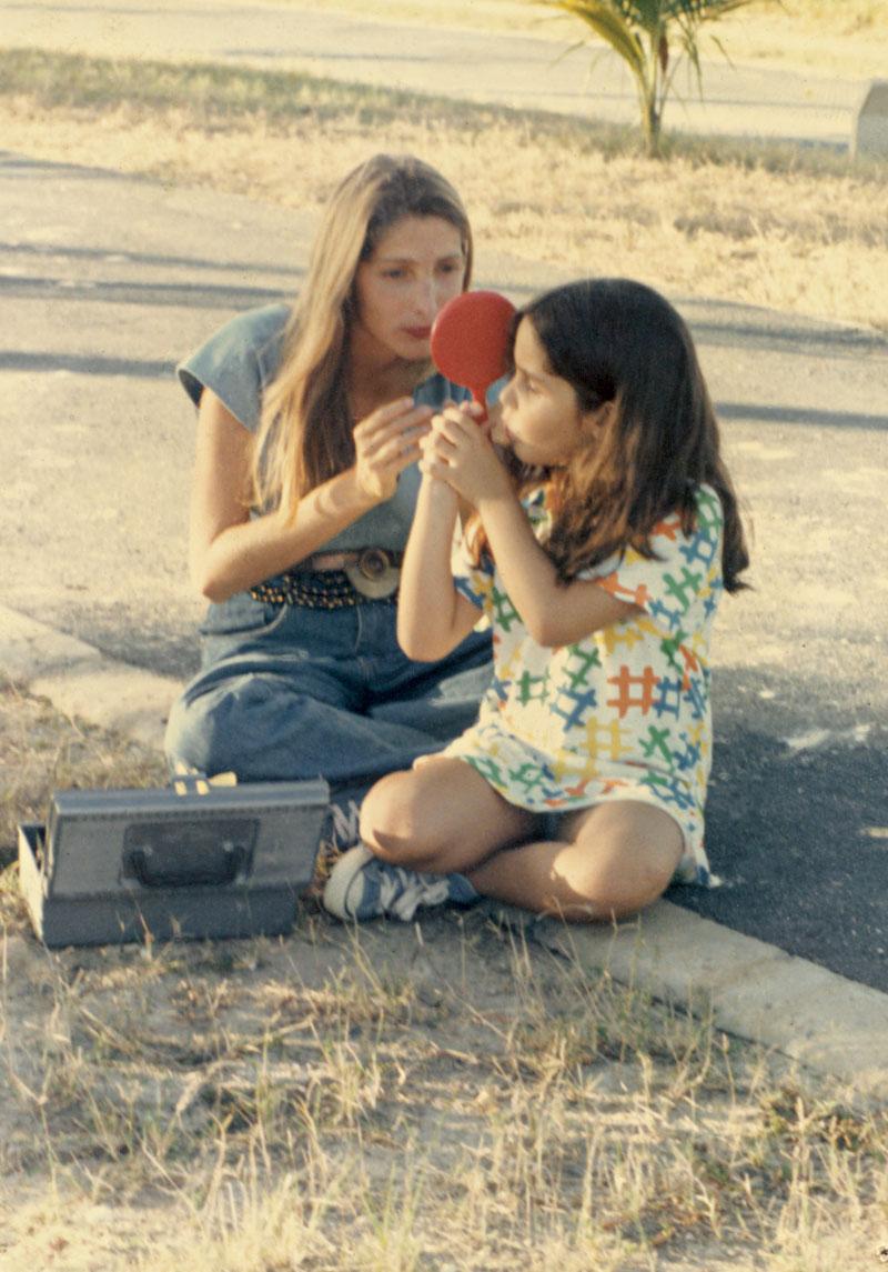 Ao lado de Tatiana, a primogênita